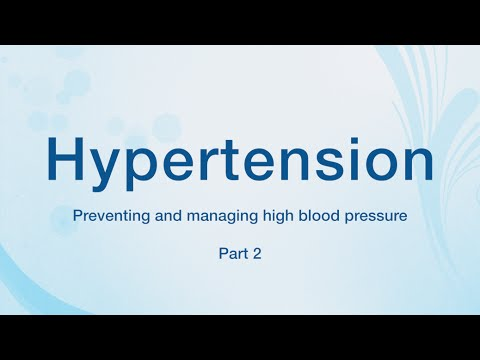 Hypertension: Preventing and managing high blood pressure – Blue Care Network of Michigan