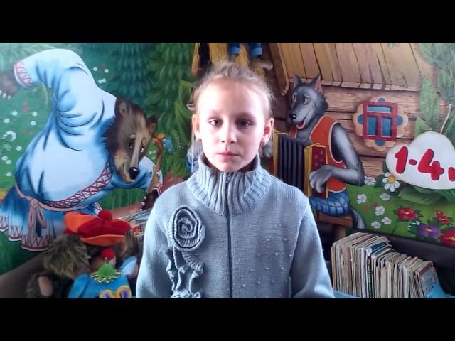 Изображение предпросмотра прочтения – ВикторияПатрахина читает отрывок изпроизведения «Руслан и Людмила» А.С.Пушкина