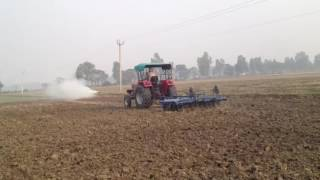 Arjun 605 with 9x9 harrow
