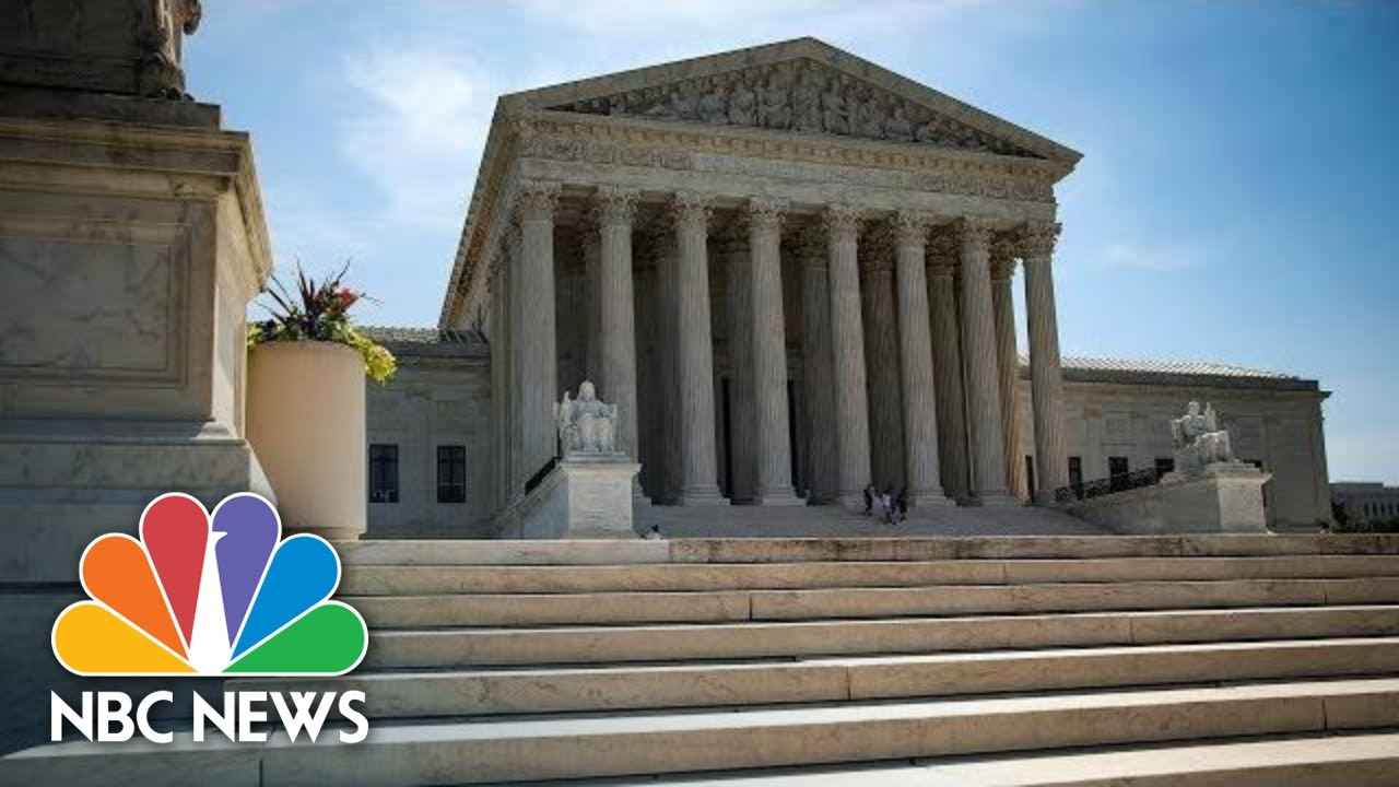 Listen: Supreme Court Hears Cases Involving Trump's Taxes ...