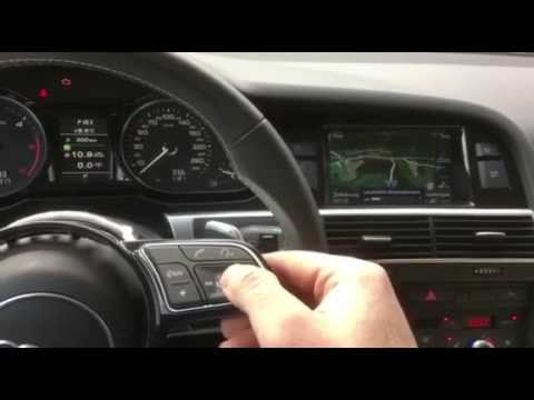 Audi A4 B9 Steering Wheel Testing Youtube