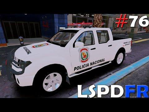 GTA V LSPDFR #76 POLICIA NACIONAL DE PARAGUAY   TheAxelGamer