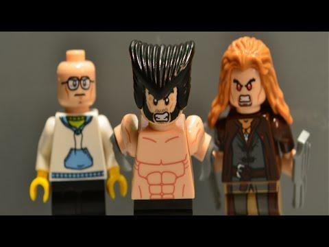 Lego The Wolverine Short Film (BrickFilm)