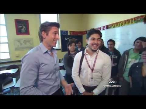 America Strong: VING Teaches Teens About Giving Back - ABC World News Tonight with David Muir
