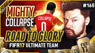 THE MIGHTY COLLAPSE! - #FIFA17 Road to Glory! #165 ultimate team