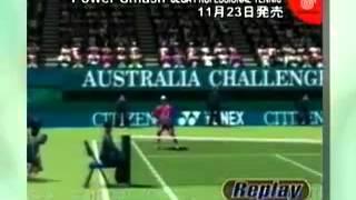 Power Smash Sega Professional Tennis   Sega Dreamcast   Retro Commercial  Trailer    Japan