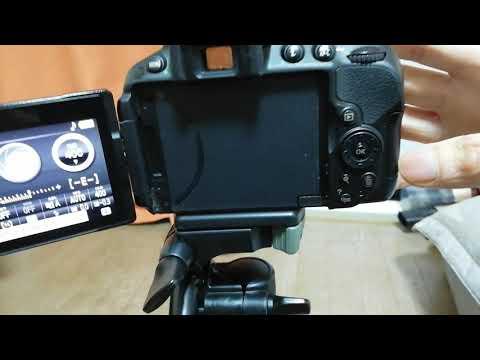Nikon D5300 - Làm quen chỉnh thông số chụp