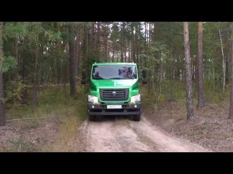 Первый тест-драйв GAZon NEXT City с двойной кабиной