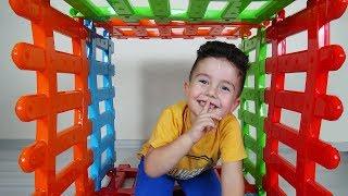 Evde Saklambaç Oynadık   Hide and Seek   Eğlenceli Çocuk Videoları