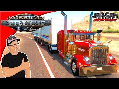 American Truck Simulator Double trailer Logistics Event #3