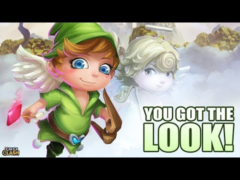 CASTLE CLASH How To Change And Get Cupid Skin