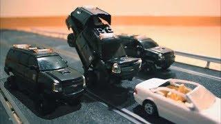 Transformers DOTM Stop Motion Part4 Spanish Highway Battle