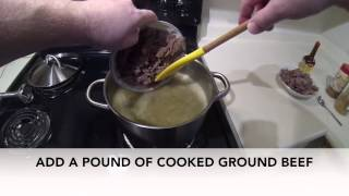 Beef And Sausage Cabbage Soup 60 Second Low Carb Recipes