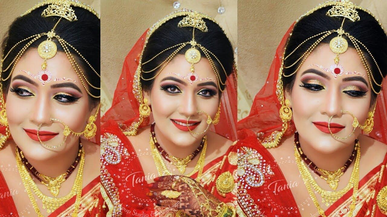 Bengali Bridal Makeup Making Video Youtube