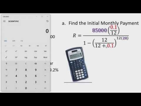 Financial Math: Calculating Monthly Payment for ARM Part 1