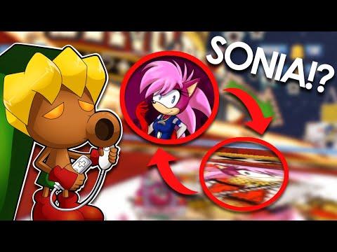 Sonia the Hedgehog in Sonic and Sega Allstars Racing - Video Game Easter Egg - Deku Gamer |