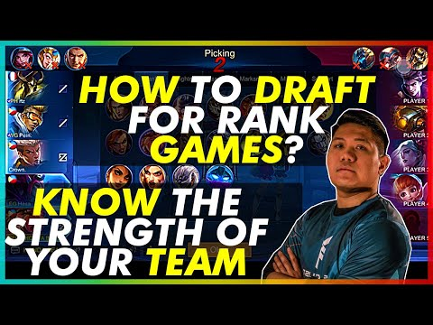HOW TO DRAFT FOR RANK GAMES? LOLITA DRAFT AND GAMEPLAY BY HONDA BEAST | PLAYING WITH COACH PEIN