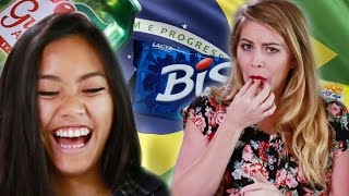 Americans Try Brazilian Sweets