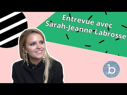 Entrevue beauté avec SARAHJEANNE LABROSSE  billie jean
