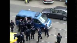 Romanian Police on Job