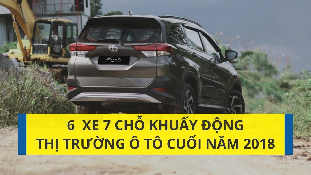 6 mẫu xe 7 chỗ làm sôi động thị trường ô tô cuối năm 2018 | CAFEAUTO