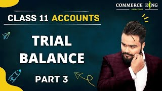 #36, Trial Balance ( Class 11 Accounts)