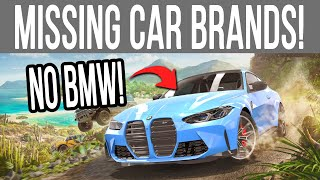 Forza Horizon 5 - ALL CAR BRANDS That Are MISSING from FH4 So Far!