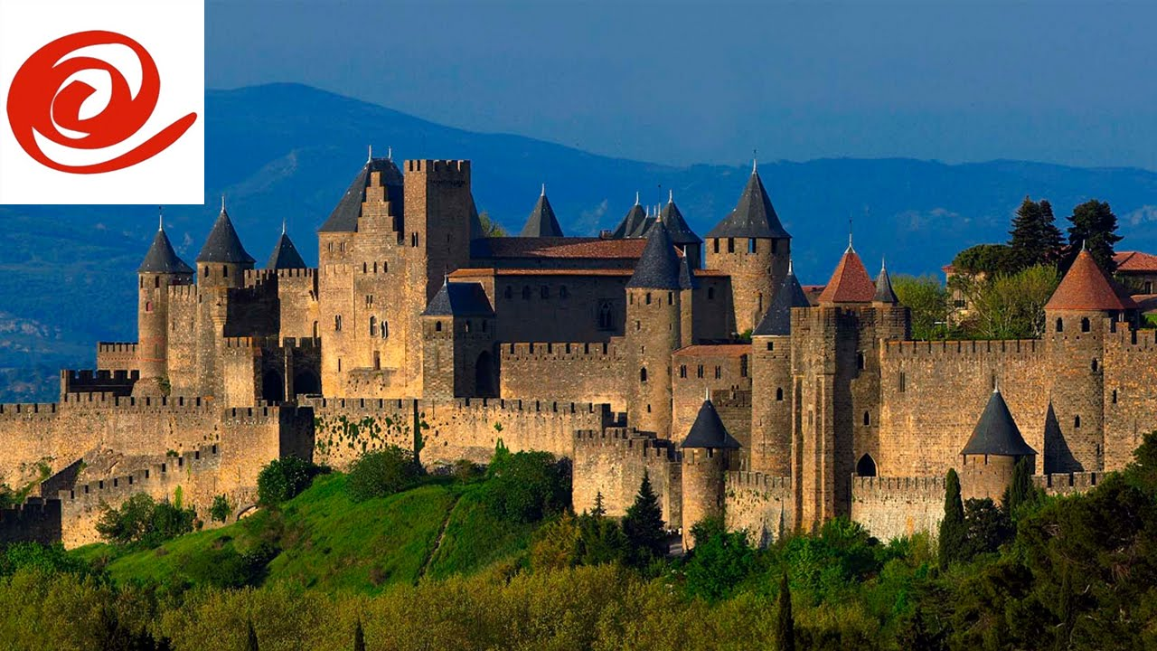 motorhome route to carcassonne aire de camping car france youtube. Black Bedroom Furniture Sets. Home Design Ideas