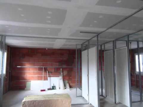 Film pose placo joint 2011 vip placo provence youtube - Installer du placo au plafond ...