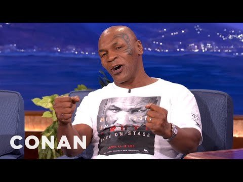 Mike Tyson Does Dumb S*** When He's High - CONAN on TBS