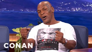 mike tyson does dumb s when he s high conan on tbs