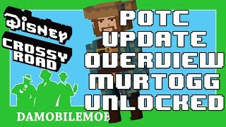 ★ DISNEY CROSSY ROAD Secret Characters   Pirates of the Caribbean Dead Men Tell no Tales Update