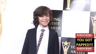 Zackary Arthur at the 37th Annual Young Artist Awards Sportsman Lodge in Studio City