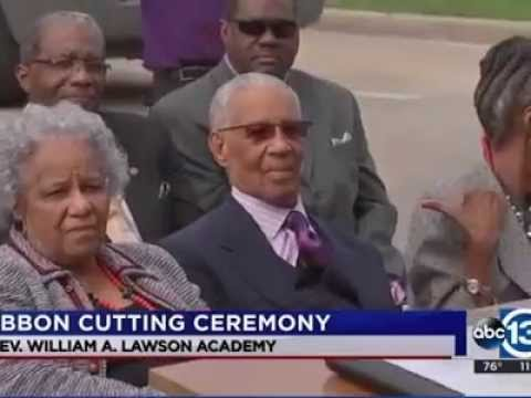 The Lawson Academy Celebrates New Name in Honor of Community Leader Reverend Lawson on ABC 13 News