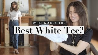 Best White T-shirt  Which Brand Makes The Best Tee