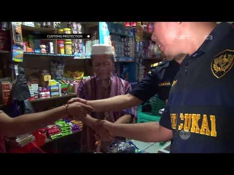 Operasi Pasar Rokok Ilegal di Makasar - Customs Protection
