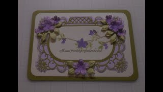 Stampin' Up! meets Heartfelt Creations Butterfly Wishes Pretty Pastel Card