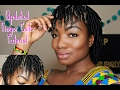 Updated Finger Coils Tutorial: Collab with Kenzie Kenz  Natural Hair 