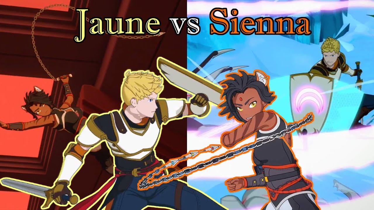 Jaune Arc vs Sienna Khan - RWBY Phoenix Festival Tournament EX