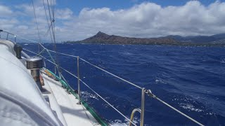 Singlehanded sailing voyage from BC to Hawaii