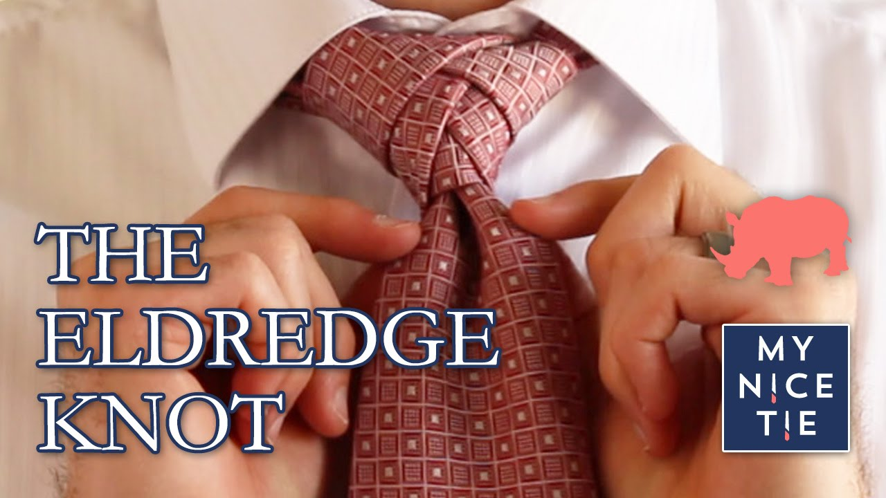 How To Tie A The Eldredge Knot Slowbeginner Trinity Diagram Youtube