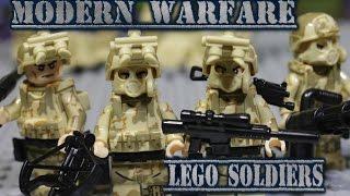 Modern Warfare lego soldiers / Аналоги Лего солдаты на современную войну!