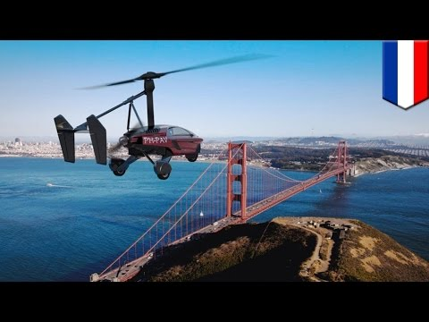 Flying car: PAL-V Liberty, the three-wheel car that turns into a flying gyrocopter - TomoNews
