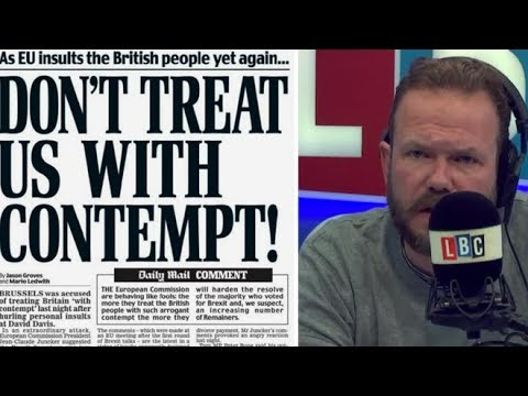 James O'Brien vs the Daily Mail's Brexit lies - YouTube