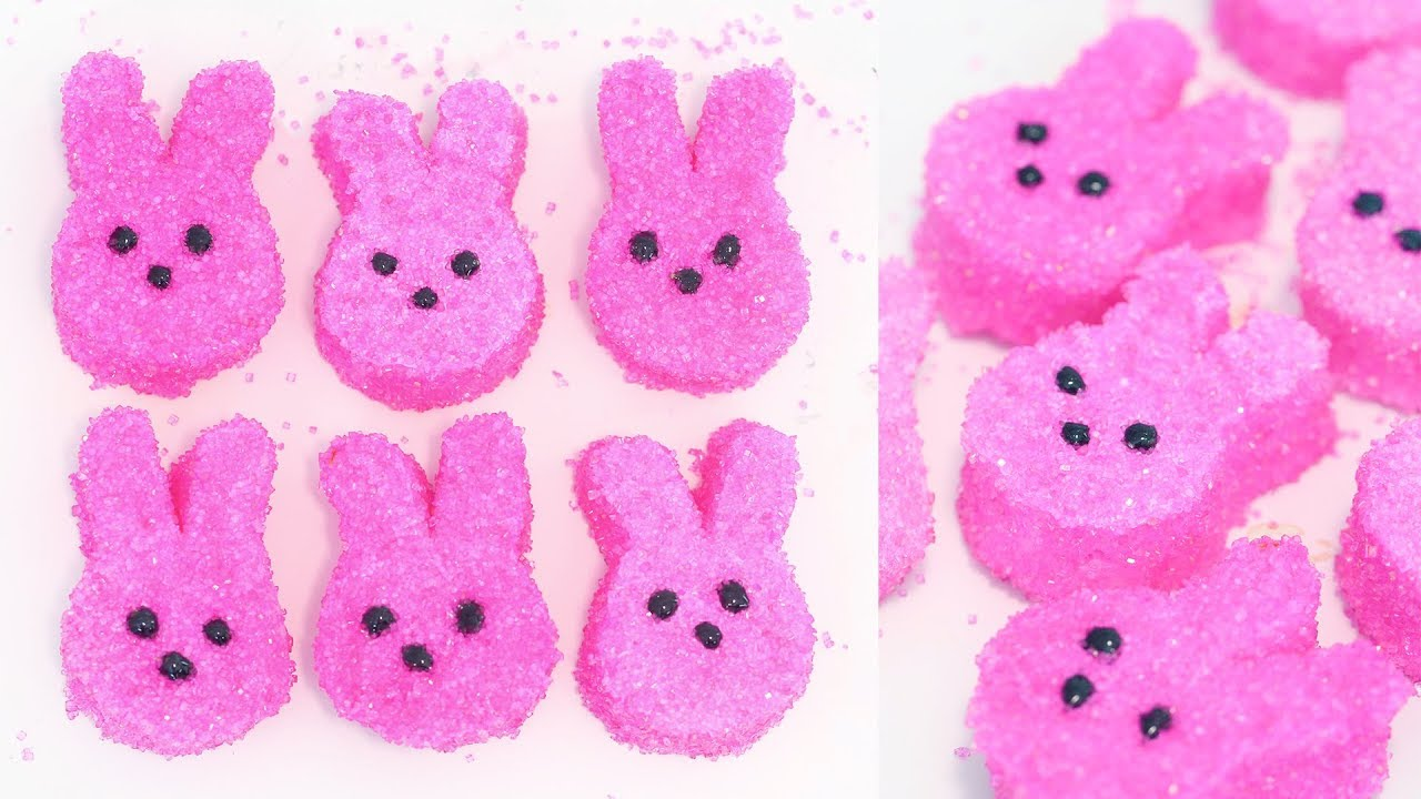 Homemade Rabbit Marshmallow Peeps