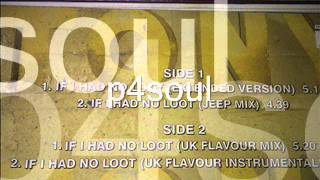 Tony  Toni Tone  If I Had No Loot extended version