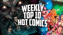 Hot Top 10 Comic Books On The Rise - APRIL (Week 3) 2019