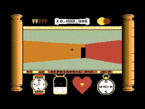 Total Eclipse preview - Atari 8 bit