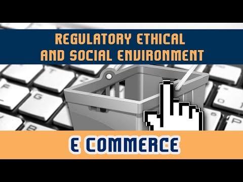 73. Regulatory Ethical and Social Environment | Part 1 | E Commerce