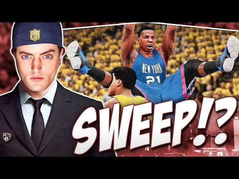 HASSAN WHITESIDE POSTERIZES INDIANA!! CAN WE COMPLETE THE SWEEP?! - NBA 2K16 Nets Rebuild #24